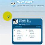cashout pertama churpchurp